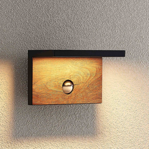 Lucande Lucande Lignus nástenné LED, snímač pohybu