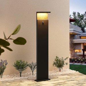 Lucande Lucande Lignus LED stojanové svietidlo, snímač