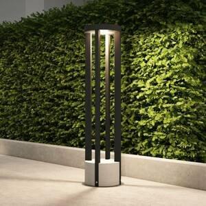 Lucande Lucande Overa chodníkové LED svietidlo, okrúhle