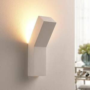 Lindby Moderné sadrové nástenné LED svietidlo Tida
