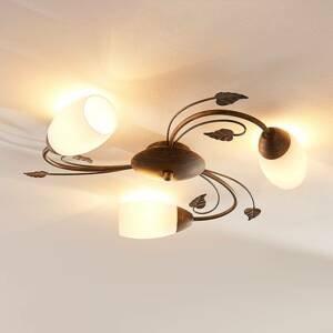 Lindby Stropné LED svietidlo Stefania, troj-plameňové