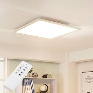 Arcchio Štvorcové stropné LED svietidlo Lysander stmievač