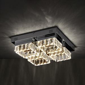 Lampenwelt.com Stropné LED svietidlo Meryem stmievateľné 4-plameň