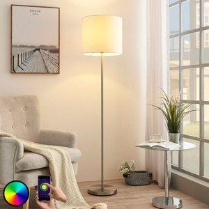 Lindby Lindby Smart LED stojaca lampa Everly, app, RGB