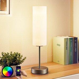 Lindby Lindby Smart LED - stolová lampa Felice s RGB