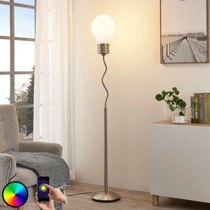 Lindby Lindby Smart LED RGB stojaca lampa Mena
