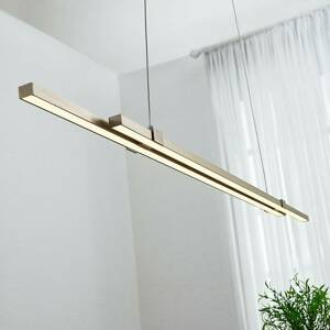Lampenwelt.com LED pásová závesná lampa Tymon, úzka, výsuvná