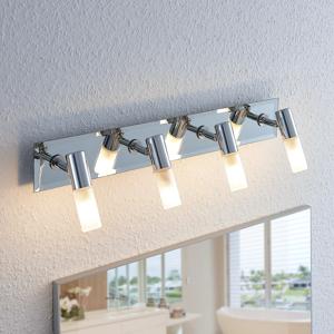 Lindby Kúpeľňový reflektor Zela 4 svetlá, dĺžka 53 cm