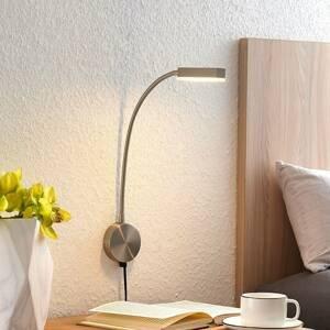 Lindby Ohybná LED nástenná lampa Samari so snímačom