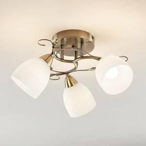 Lindby Lindby Thaddeus stropné svietidlo 3-pl výška 27cm