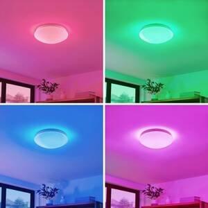 Lindby Lindby Janosch stropné LED s diaľkovým ovládaním
