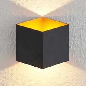 Arcchio Arcchio Alima nástenná LED, IP44 čierna