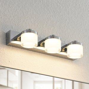 Arcchio Arcchio Kejan nástenná LED, IP44, 3-plameňová