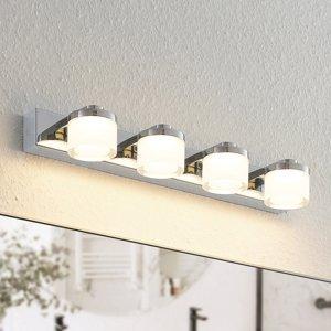Arcchio Arcchio Kejan nástenná LED, IP44, 4-plameňová