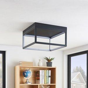 Lucande Lucande Byrana LED stropná lampa, štvorcová