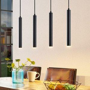 Arcchio Arcchio Kammeron LED závesné svietidlo, čierne