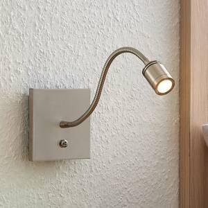 Lindby Lindby Legera nástenná LED lampa na čítanie rameno