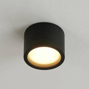 Arcchio Arcchio Nieva downlight GX53, čierna, okrúhla