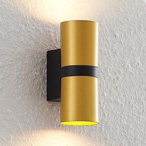 Arcchio Arcchio Arsa nástenná lampa, 2-pl., zlatá