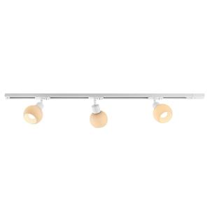 Lindby ELC Jeanit 3-fázová LED koľajnica, 3-pl., biela