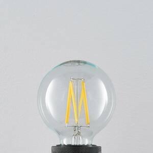 Arcchio LED E27 8W 2700K filament, stmievateľná, číra