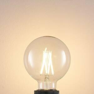 Arcchio LED žiarovka E27 8W 2700K globe, filament, číra