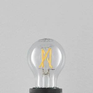 Arcchio LED E27 4W 2700K filament, stmievateľná, číra