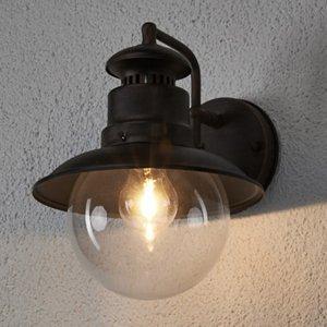 Lindby Rustikálne vonkajšie nástenné svietidlo Eddie IP44