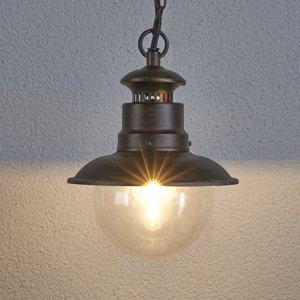 Lindby Eddie – závesná lampa do exteriéru