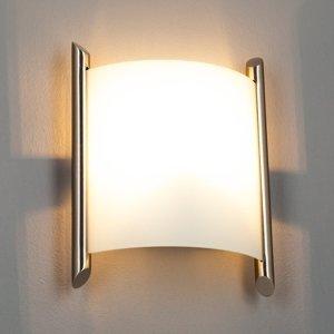 Lindby Nástenné svetlo Filippa 20 cm nikel satinované