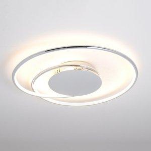 Lindby Stropné LED svietidlo Joline chróm 46 cm