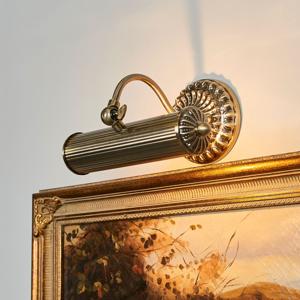 Lindby Anticky vyzerajúca obrazová lampa Joely starožitná
