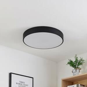 Lindby Lindby Simera LED stropná lampa 50 cm, čierna