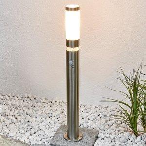 Lindby Všestranné chodníkové svetlo Binka detektor pohybu