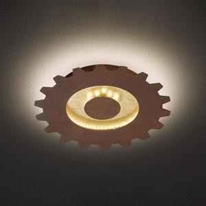 Wofi Závesné LED Leif vzhľad ozubeného kolesa Ø 30cm