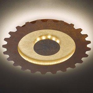 Wofi Závesné LED Leif vzhľad ozubeného kolesa Ø 50cm