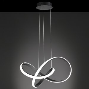 Wofi WiZ Indigo závesné LED svietidlo, čierne