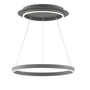 Wofi Závesné LED Kemi, s diaľkovým ovládaním, okrúhle