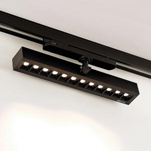 Arcchio Arcchio Millay koľajnicové LED svetlo čierne 3000K