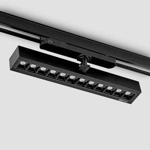Arcchio Arcchio Millay koľajnicové LED svetlo čierne 4000K
