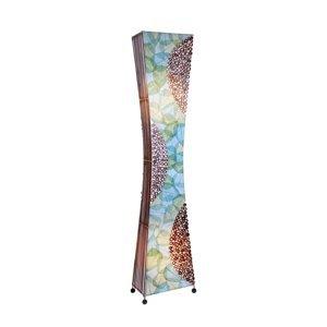 Woru Stojaca lampa Talia, vyrobená ručne, 150cm