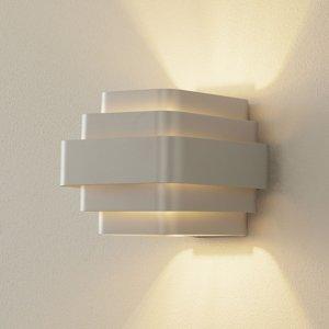 WEVER & DUCRÉ WEVER&DUCRÉ J.J.W. 02 nástenné svetlo 18,8 cm Ag