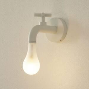WEVER & DUCRÉ WEVER & DUCRÉ Lightdrop IP44 nástenné biele