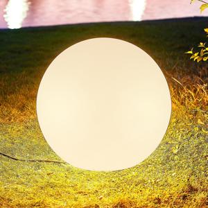 Arcchio Arcchio Orlana, svetelná guľa, IP65, biela, 45 cm