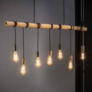 ZIJLSTRA Závesná lampa Barboo so 7 objímkami