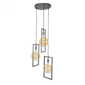 ZIJLSTRA Závesná lampa Skyframe, 3-plameňová