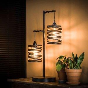 ZIJLSTRA Stolná lampa Spindlight, 2-pl., výška 70cm