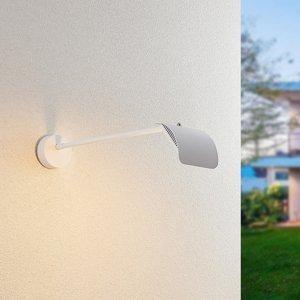 Arcchio Arcchio Grayson – vonkajšie nástenné LED, biele