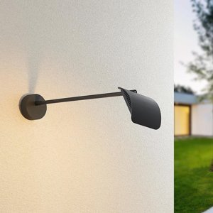 Arcchio Arcchio Grayson vonkajšie nástenné LED, antracit
