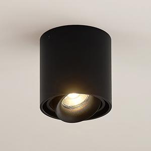 Arcchio Arcchio Walza bodová lampa, GU10, čierna